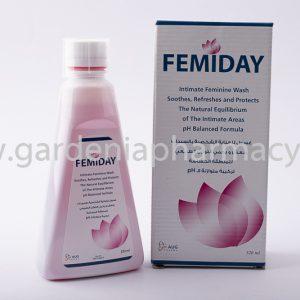 FEMIDAY FEMININE WASH 320ML