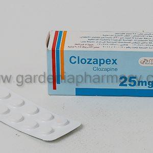 CLOZAPEX 25MG TAB