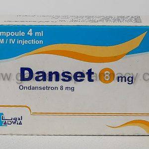 DANSET 8MG 1 AMP