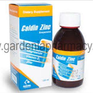 CALDIN ZINC SYRUP 120ML