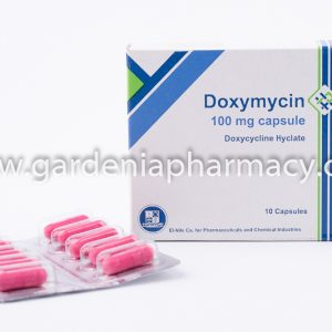 DOXYMYCIN 100MG 10CAP