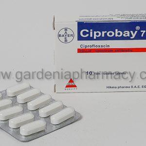 CIPROBAY 750MG TAB