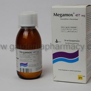 MEGAMOX 457MG SUSP