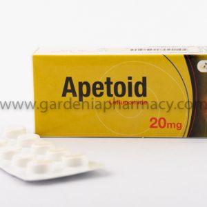 APETOID 20MG TAB