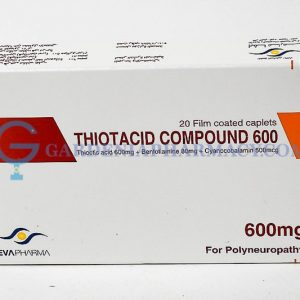 THIOTACID 600 MG COMP CAP