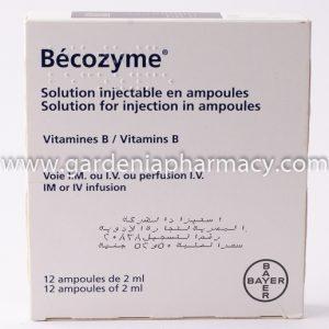 BECOZYM 2ML - 12 AMP IMP