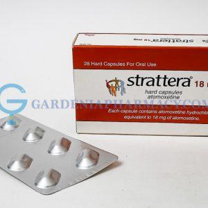 STRATTERA 18MG CAP