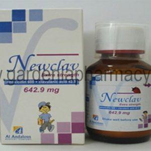 New-Clav 642.9 mg  Suspension 50 ml