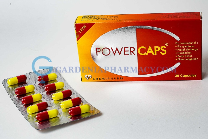 POWER CAPS 20 CAP