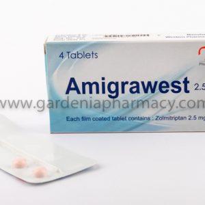 AMIGRAWEST 2.5 MG 4 TAB