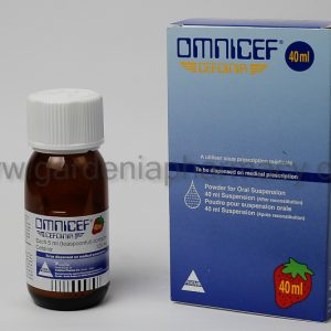 OMNICEF 40 ML SUSP