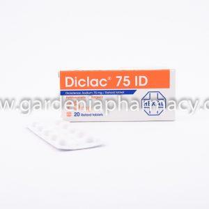 DICLAC 75 MG 20 TAB