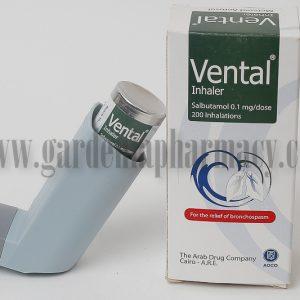 VENTAL INHALER 0.1
