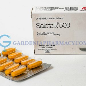SALOFALK 500 MG 20 TAB