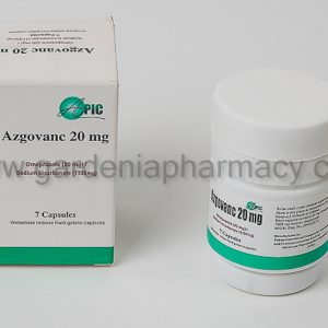 AZGOVANS 20 MG 7CAP