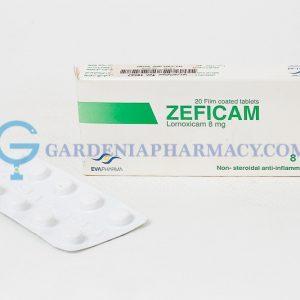 ZEFICAM 8MG 20TAB