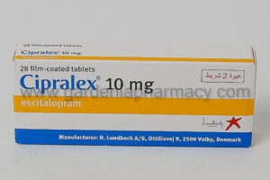 CIPRALEX 10 MG 28 CAP