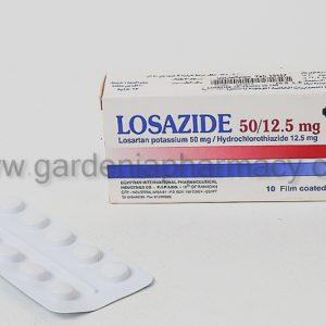 LOSAZIDE 50/12.5MG 10 TAB