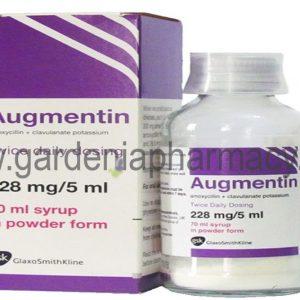 AUGMENTIN DUO 228.5MG SYRUP 70 ML