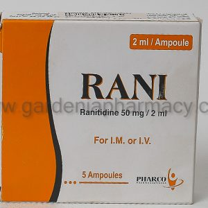 RANI 50MG /2ML 5 AMP