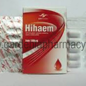 HIHAEM IRON 100MG 30CAP