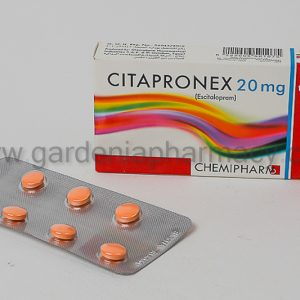 CITAPRONEX 20 MG 14 CAP