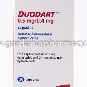 DUODART® 0.5MG/0.4MG 30 CAP