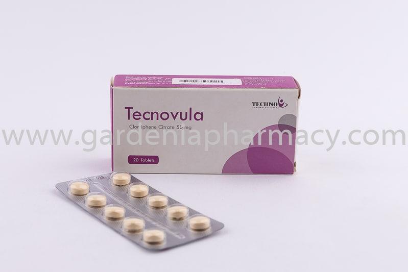 تكنوفيولا TECNOVULA 50MG 20 TAB