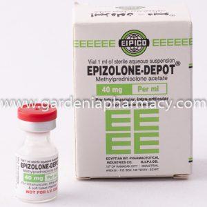 EPIZOLONE-DEPOT 40MG VIAL