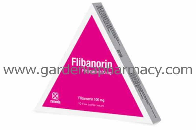 FLIBANORIN 100MG 10 TAB