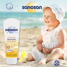 SANOSAN BABY SUN CREAM 75ML