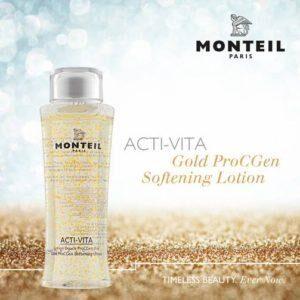 MONTEIL GOLD PROCGEN SOFTENING LOTION 125ML