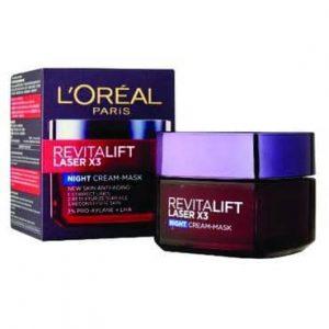 LOREAL REVITALIFT LASER X3 NIGHT + DAY CREAM 50ML