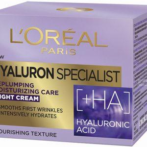 LOREAL HYALURON EXPERT NIGHT +HA CAREM 50ML