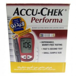 Accu Chek Performa with Free Test Strips in Egypt