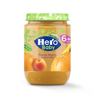 hero baby fruits food