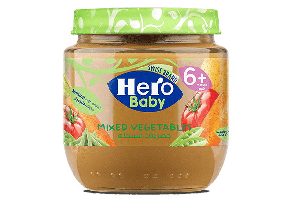 hero baby vegetable jar