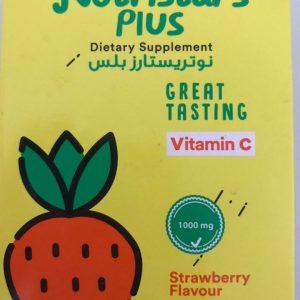 NUTRISTARS PLUS VITAMIN C STRAWBERRY FLAVOUR 10 SACHET