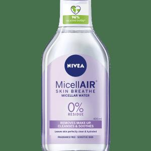 NIVEA ALL SKIN TYPES MICELLAR WATER 400ML