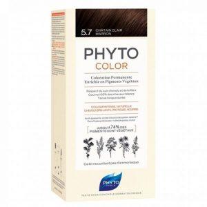 PHYTO COLOR 5.7 LIGHT CHESTNUT BROWN