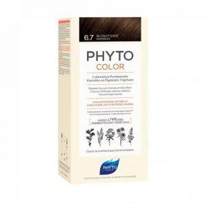 PHYTO COLOR 6.7 DARK CHESTNUT BLONDE