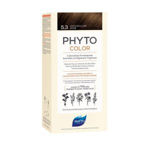 PHYTO COLOR 5.3 LIGHT GOLDEN BROWN