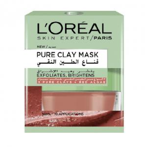 LOREAL PURE CLAY MASK RED ALGAE 50ML
