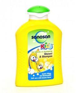 SANOSAN BANANA SHOWER SHAMPOO 200ML