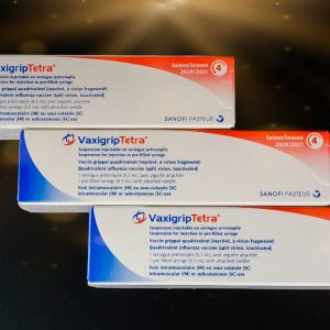 Vaxigrip tetra influenza vaccine