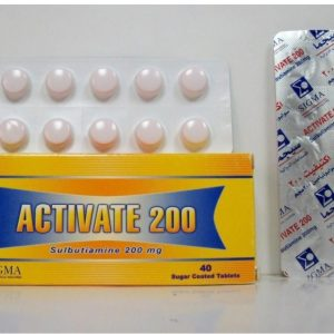 ACTIVATE 200MG 40 TAB