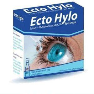 ECTO HYLO 30AMP EYE DROPS