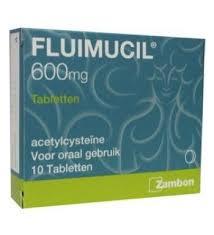 FLUIMUCIL 600 10TAB
