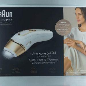 BRAUN SILK EXPERT PRO 5 IPL HAIR REMOVAL SYSTEM