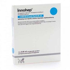 INNOHEP (0.45 ML = 4500 I.U ) 10 SYRINGE